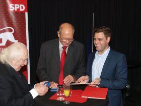 Werner Grunert, Alexander Vogelgsang und Florian Wahl